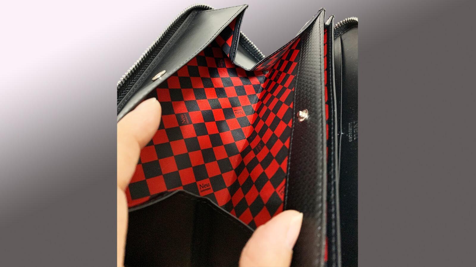 ノイインテレッセ財布のコインケース部分画像